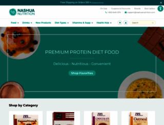 nashuanutrition.com screenshot