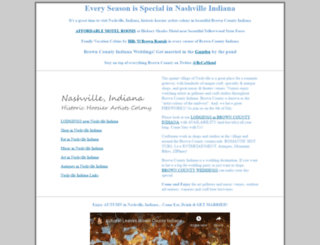 nashville-indiana.com screenshot