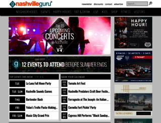 nashvilleguru.com screenshot