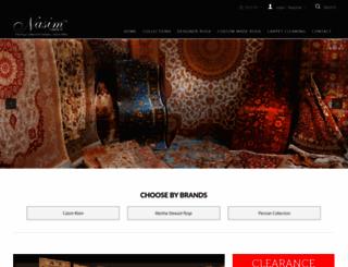 nasimcarpets.com screenshot