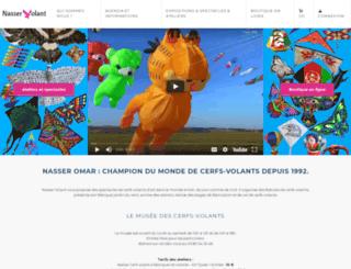 nasservolant.com screenshot