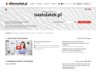 nastolatek.pl screenshot