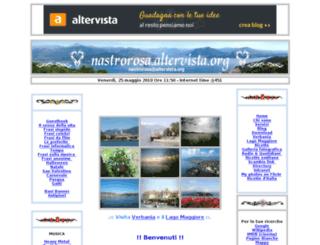 nastrorosa.altervista.org screenshot
