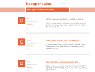 naszgranowiec.pl screenshot