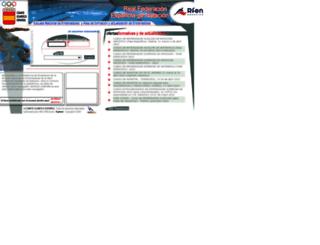 natacion.coe.info screenshot
