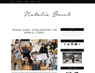nataliabosch.com screenshot