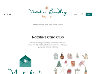 nataliebradley.com screenshot