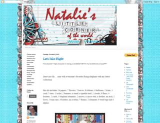 natalieslittlecorneroftheworld.blogspot.com screenshot