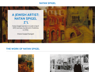 natanspigel.com screenshot