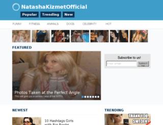 natashakizmet.me screenshot