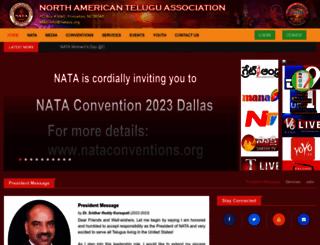 nataus.org screenshot