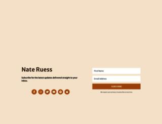 nateruess.fanbridge.com screenshot