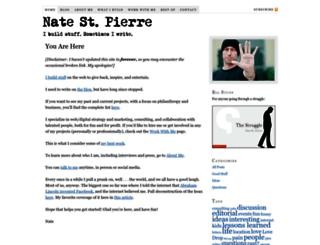natestpierre.me screenshot