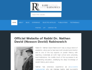 nathanrabinowich.com screenshot