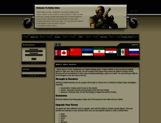 nation-wars.com screenshot