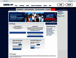 national.usta.com screenshot