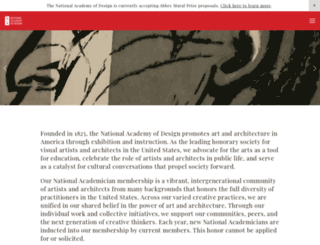 nationalacademy.org screenshot