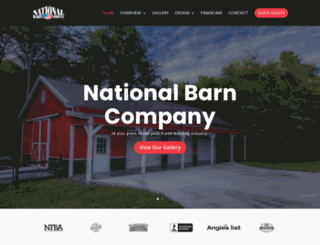 nationalbarn.com screenshot