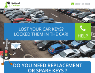 nationalcarkeys.co.uk screenshot
