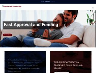 nationalcashlenders.com screenshot