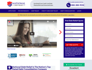 nationaldebtreliefprograms.net screenshot