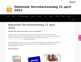 nationale-secretaressedag.nl screenshot