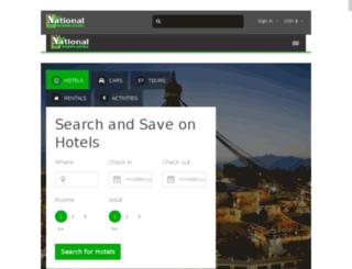 nationalecotourism.com screenshot