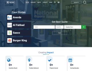 nationalexports.in screenshot