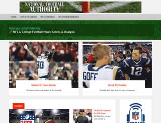 nationalfootballauthority.com screenshot