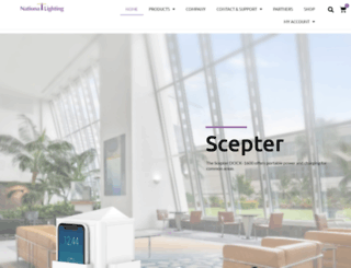 nationallighting.com screenshot