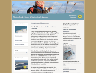 nationalparkhaus-wattenmeer.de screenshot