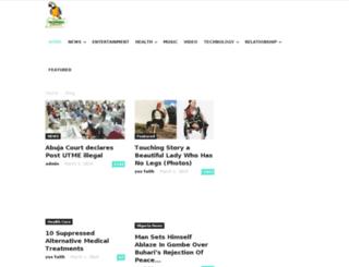 nationalparrot.com screenshot