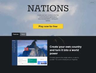 nationsgame.net screenshot