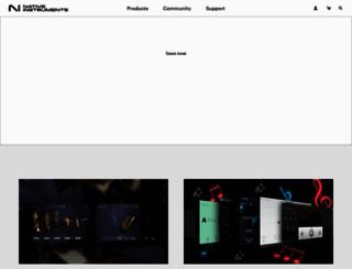 native-instruments.com screenshot
