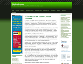 native-loans.com screenshot