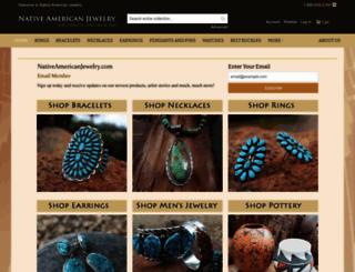 nativeamericanjewelry.com screenshot