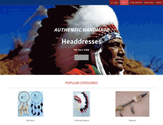 nativeamericanvault.com screenshot