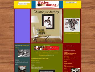 nativeonline.com screenshot