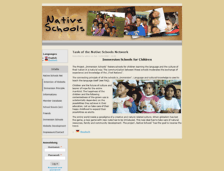 nativeschools.net screenshot