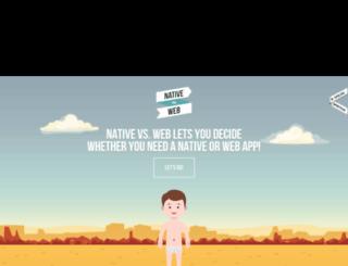 nativevsweb.com screenshot