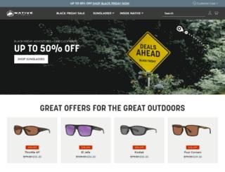 nativeyewear.com screenshot