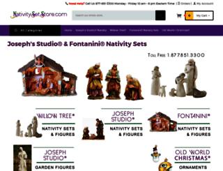 nativitysetstore.com screenshot