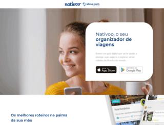 nativoo.com.br screenshot