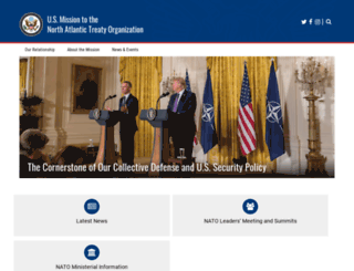 nato.usmission.gov screenshot