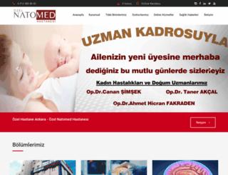 natomed.com.tr screenshot