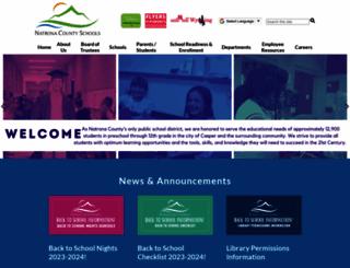 natronaschools.org screenshot