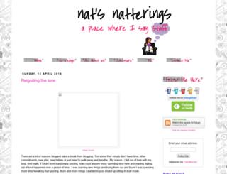 nats-natterings.blogspot.com screenshot