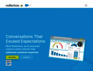 natterbox.com screenshot
