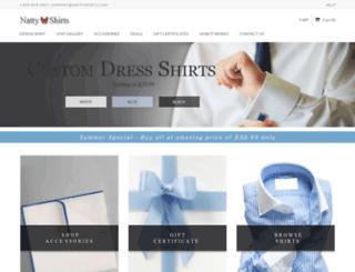 nattyshirts.com screenshot