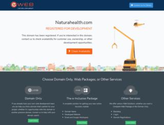 naturahealth.com screenshot